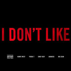 Chief Keef ft. Kanye West, Pusha T, Jadakiss & Big Sean - I Don't Like (Remix) Artwork