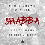 Chris Brown, Wiz Kid, Hoody Baby & Section Boyz - Shabba Artwork