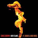 Chris Brown ft. Usher & Rick Ross - New Flame Artwork