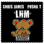 Chris James ft. Pusha T - Love Hates Me Artwork