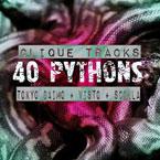 Clique Tracks ft. Tokyo Daimo, Visto & Scolla - 40 Pythons Artwork