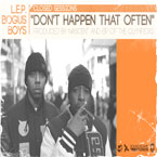 Closed Sessions ft. L.E.P Bogus Boys - Don't Happen That Often Artwork