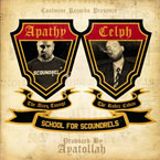 Coalmine Records ft. Apathy &amp; Celph Titled - School for Scoundrels Artwork