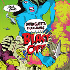 David Guetta & Kaz James - Blast Off Artwork