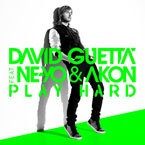 David Guetta ft. Ne-Yo &amp; Akon - Play Hard Artwork