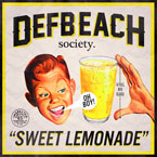 Def Beach Society ft. Cave Johnson - Sweet Lemonade Artwork