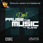 Dee-1 ft. Alania - Pause the Music Artwork