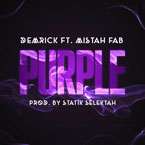 DEMRICK ft. Mistah F.A.B - Purple Artwork