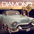 Diamond ft. Nikkiya - Love Like Mine Artwork