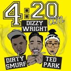 Dirty Smurf - 420 AM ft. Dizzy Wright & Ted Park Artwork