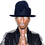 Pharrell Williams ft. Jay-Z - Frontin' (Disclosure Re-Work) Artwork