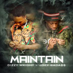 Dizzy Wright ft. Joey BadA$$ - Maintain Artwork