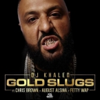 DJ Khaled - Gold Slugs ft. Chris Brown, August Alsina & Fetty Wap Artwork