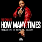 DJ Khaled - How Many Times ft. Chris Brown, Lil Wayne & Big Sean Artwork