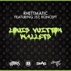 DJ Rhettmatic ft. Koncept & J57 - Louis Vuitton Wallets Artwork