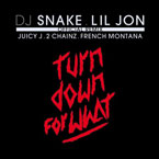 DJ Snake & Lil Jon ft. ft. Juicy J, 2 Chainz & French Montana - Turn Down For What (Remix) Artwork