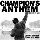 Donny Goines ft. Bun B, XV, Pill & DJ Corbett - Champions Anthem Artwork