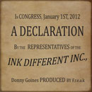 Donny Goines - The Declaration Artwork