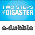 e-dubble - Two Steps From Disaster Artwork