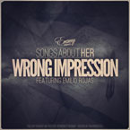 Emanny ft. Emilio Rojas - Wrong Impression Artwork