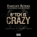 Emilio Rojas ft. Joe Budden - B*tch Is Crazy Artwork