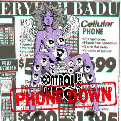 Erykah Badu - Phone Down Artwork