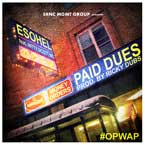Esohel ft. Nitty Scott, MC - Paid Dues Artwork