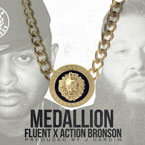 Fluent ft. Action Bronson - Medallion Artwork
