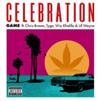 Game ft. Chris Brown, Tyga, Wiz Khalifa & Lil Wayne - Celebration Artwork