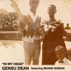 Gensu Dean ft. Brand Nubian - In My Head Artwork