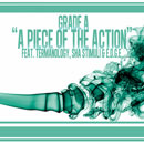 Grade A ft. Termanology, Sha Stimuli &amp; e.d.g.e. - A Piece of the Action Artwork