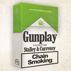 Gunplay ft. Stalley & Curren$y - Chain Smoking Artwork