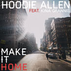 Hoodie Allen ft. Kina Grannis - Make It Home Artwork