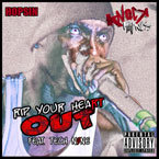 Hopsin ft. Tech N9ne - Rip Your Heart Out Artwork