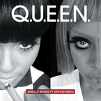 Janelle Mone ft. Erykah Badu - Q.U.E.E.N. Artwork