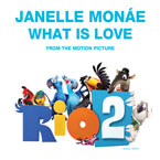 Janelle Monáe - What Is Love Artwork