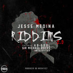 Jesse Medina ft. Ab-Soul, Sir Michael Rocks & Anya Kvitka - Riddims 2.0 Artwork
