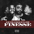 Jim Jones - Finesse ft. Rich Homie Quan, A$AP Ferg & Desiigner Artwork