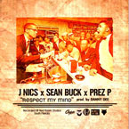 J NICS ft. Sean Buck & Prez P - Respect My Mind Artwork