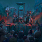 Jon Bellion - Guillotine ft. Travis Mendes Artwork