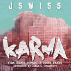 JSWISS ft. Karen Bernod & Dasan Ahanu - Karma Artwork