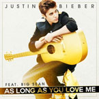 Justin Bieber ft. Big Sean - As Long As You Love Me Artwork