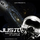 Justt ft. Daft Punk - Something About Us Artwork