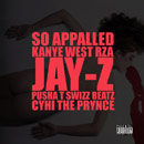 Kanye West ft. Jay-Z, RZA, Pusha T, Swizz Beatz &amp; CyHi Da Prynce - So Appalled Artwork
