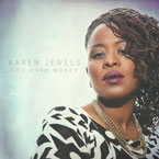 Karen Jewels - God Over Money Artwork