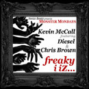 Kevin McCall ft. Diesel & Chris Brown - Freaky i iZ Artwork