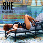 Keyshia Cole - SHE Artwork