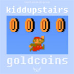 Kidd Upstairs - Gold Coins Artwork
