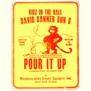 Kidz In The Hall ft. David Banner & Bun B - Pour It Up (P.imp C.up) Artwork