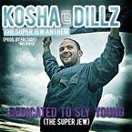 Kosha Dillz - Super Jew Anthem Artwork